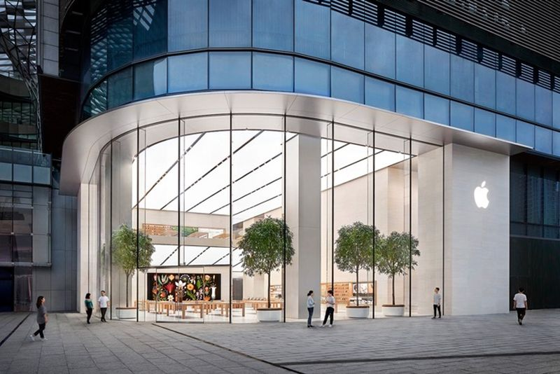 apple closing its stores