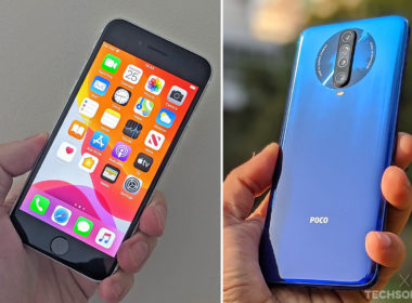 iphone se 2020 vs poco x2
