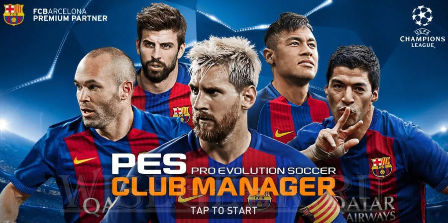 pes club manager multiplayer game
