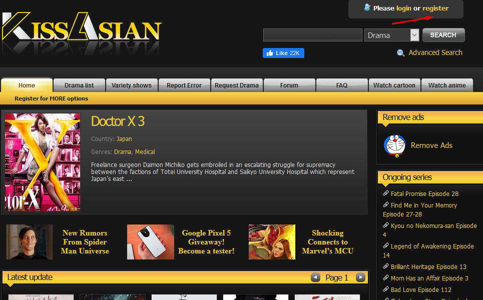 sign up for kissasian