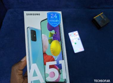Samsung Galaxy A51 TechSoFar