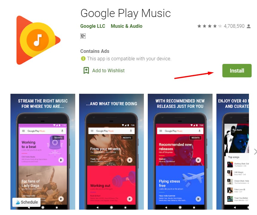 get itunes for chromebook using google play music