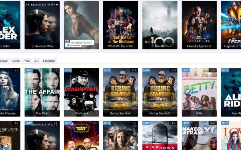 sites to stream new tv shows online free without signing up