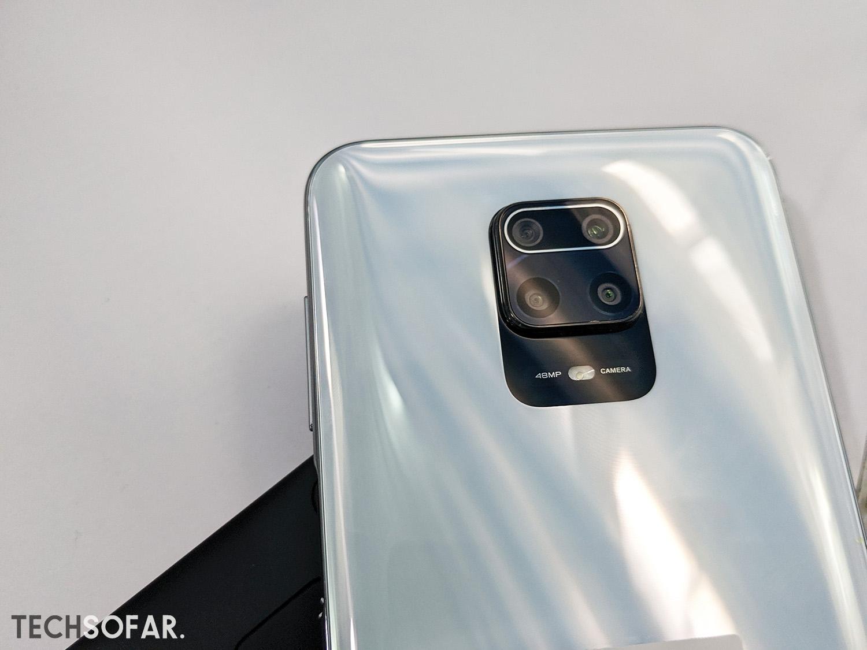 Redmi Note 9S Back Design
