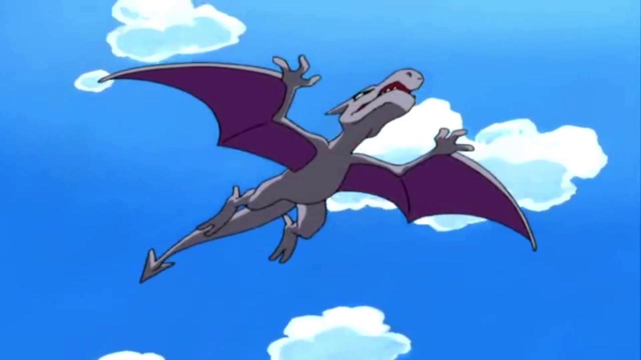 Aerodactyl flying type pokemon