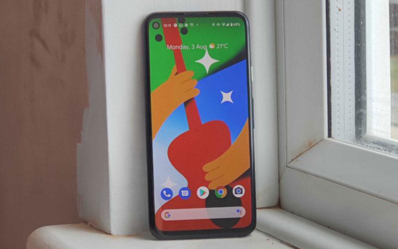 is the Google Pixel 4a waterproof?