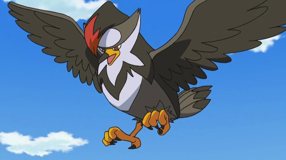 Staraptor best flying type pokemon guide