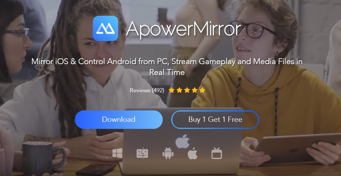 apowermirror best screen mirroring apps