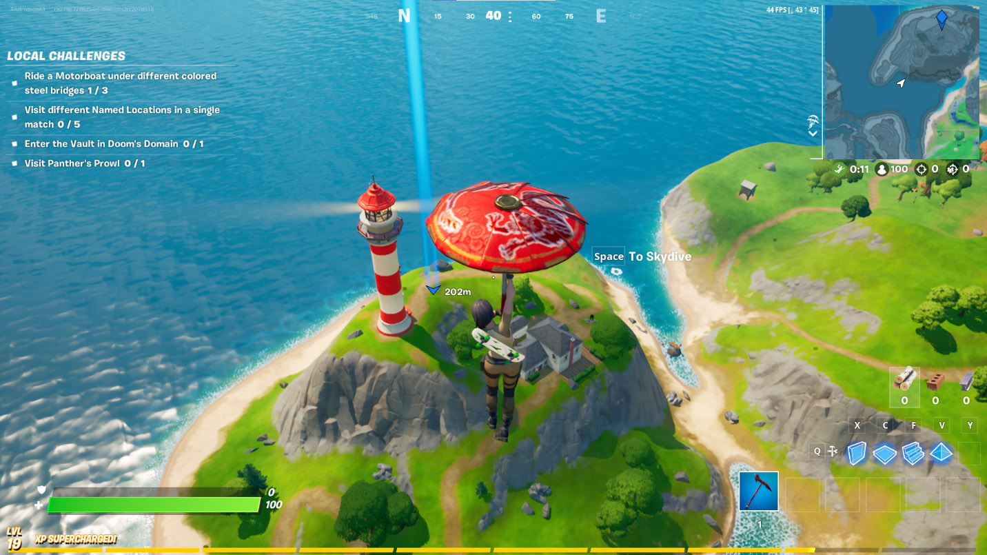 Where to Find Lockie's Lighthouse in Fortnite