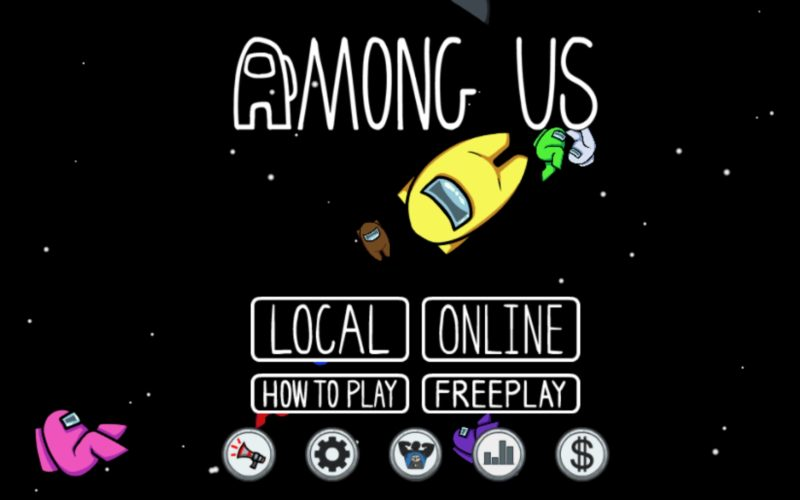 among us - multiplayer games like town of salem