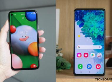Samsung Galaxy S20 FE vs. Google Pixel 5