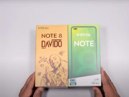 Infinix Announces Note 8 (Davido Limited Edition)