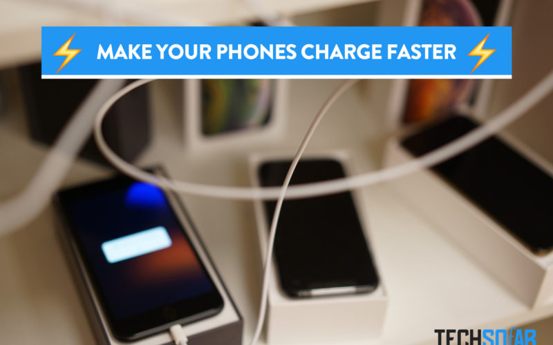 Make your phones charge faster