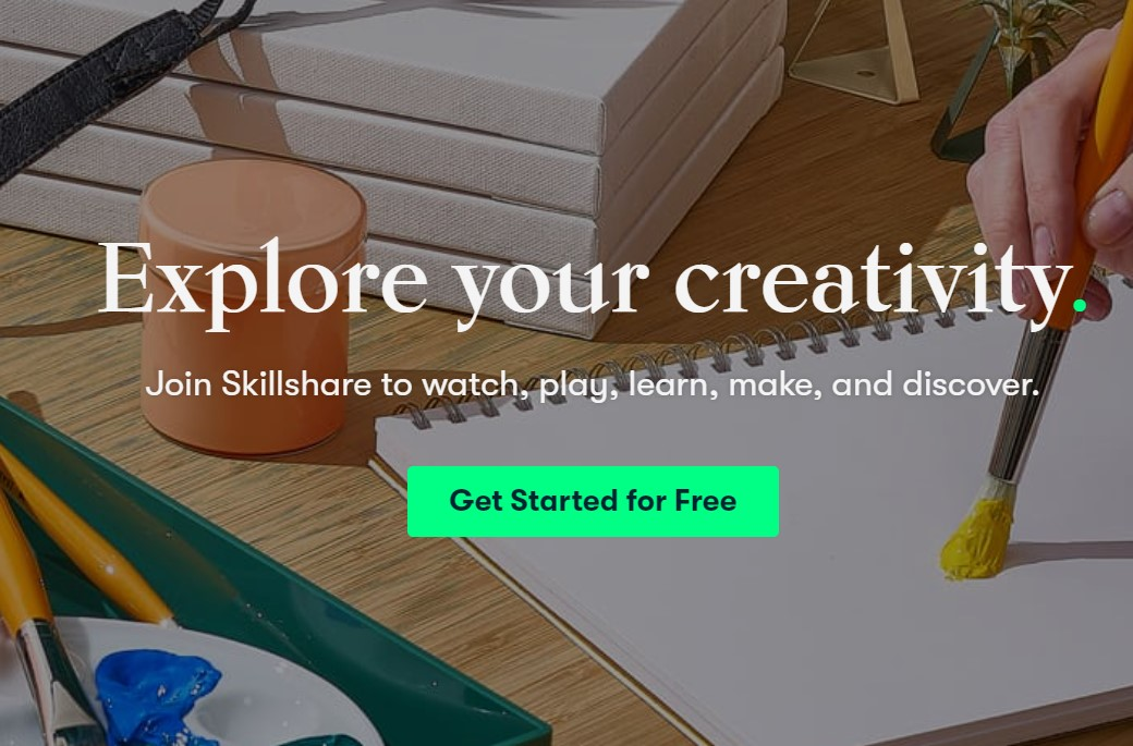 skillshare learn things take courses online