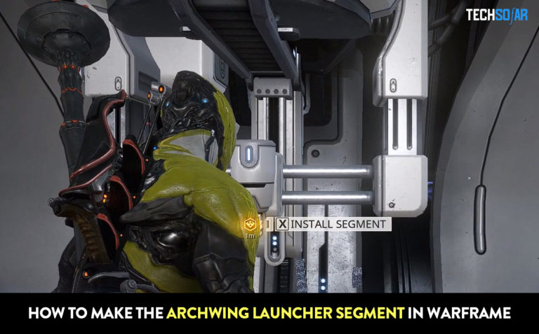 How To Make The Archwing Launcher Segment in Warframe