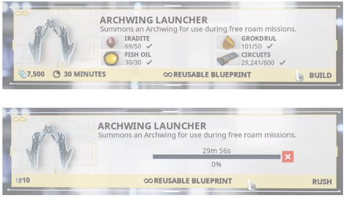 How to Build the Archwing Launcher Segment