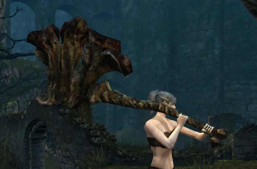 The Best Dark Souls 3 Weapons demon's greataxe