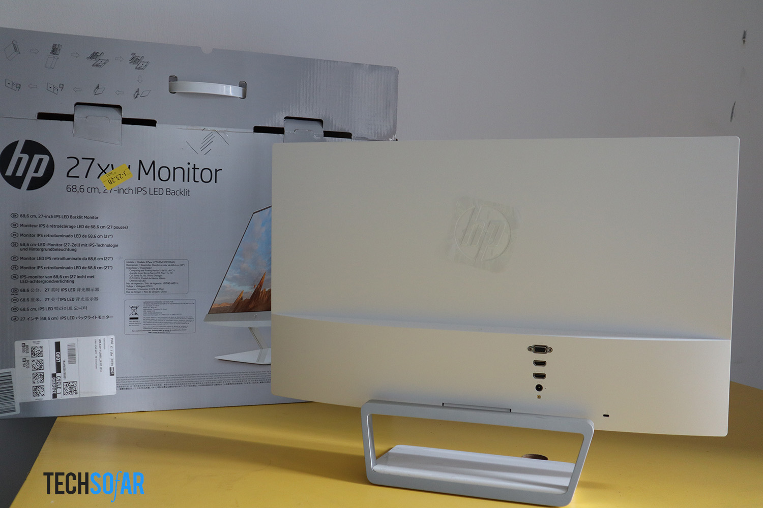 hp pavilion 27xw review