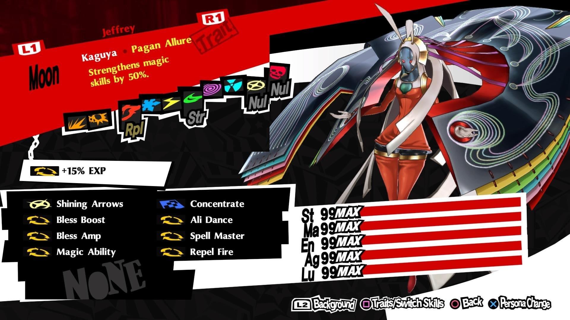 Persona 5 Royal Best Personas Kaguya