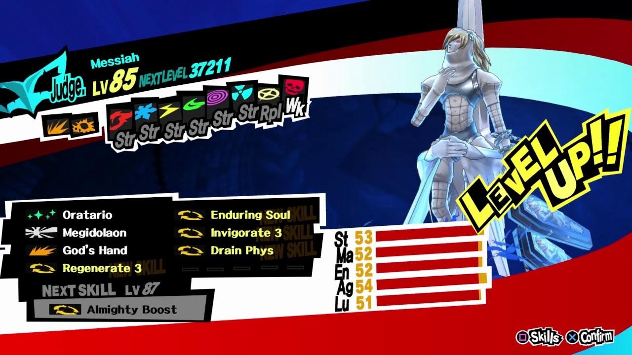 Persona 5 Royal Best Personas Messiah